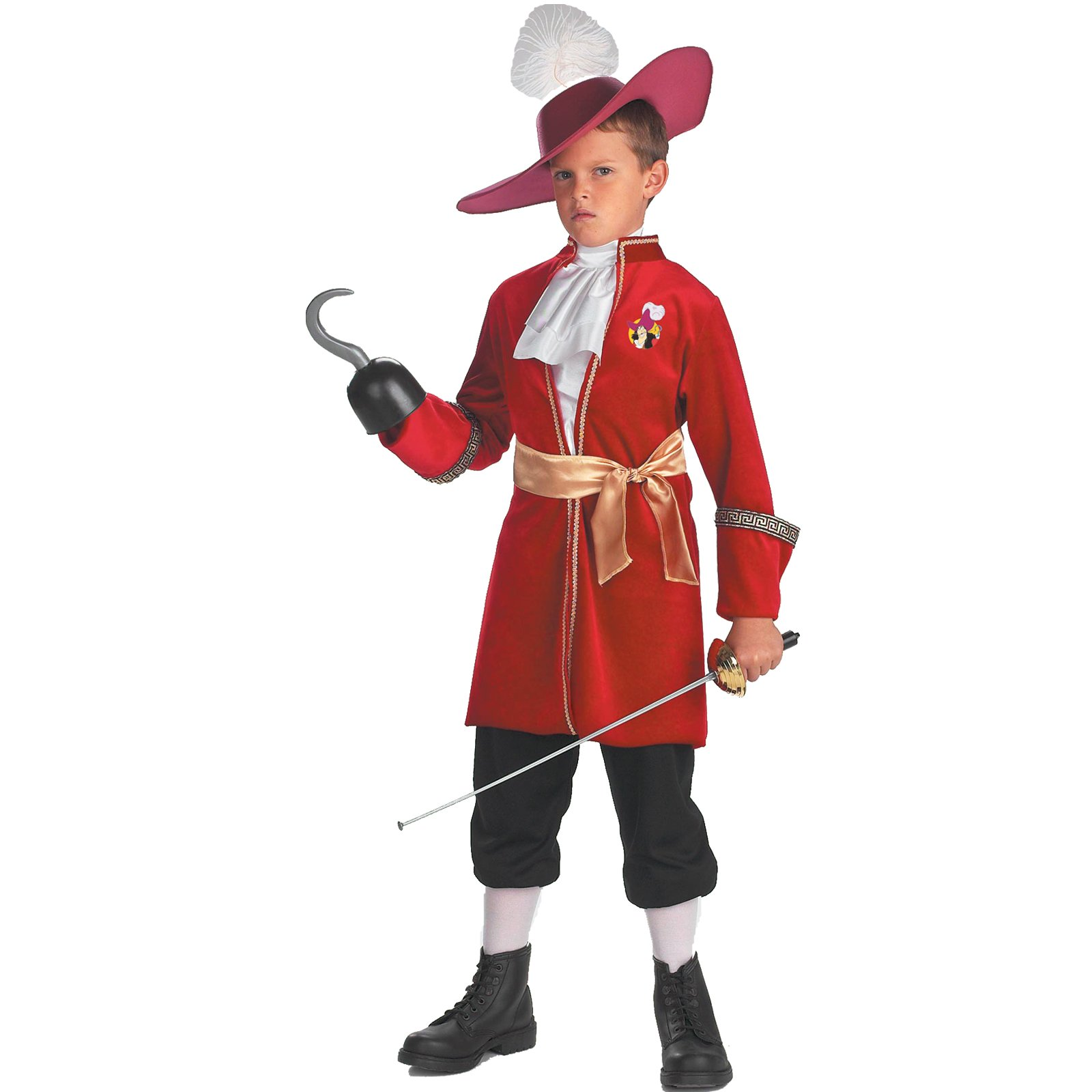 Peter Pan Disney Captain Hook Toddler / Child Costume