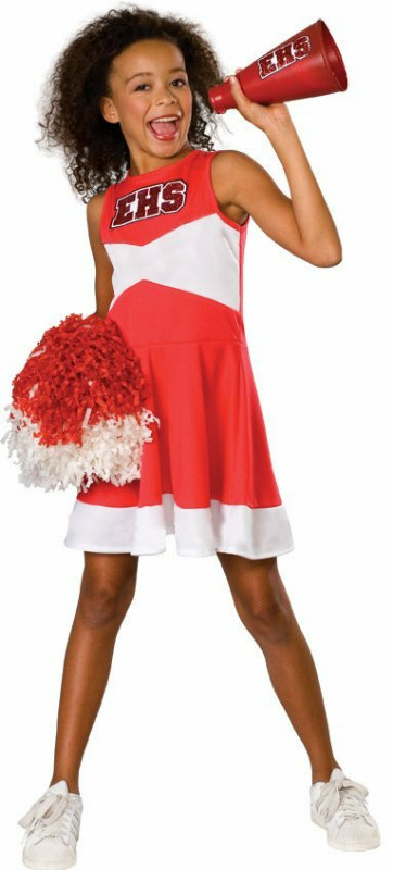 High School Musical Cheerleader Dress-Up Yearbook Child Costume