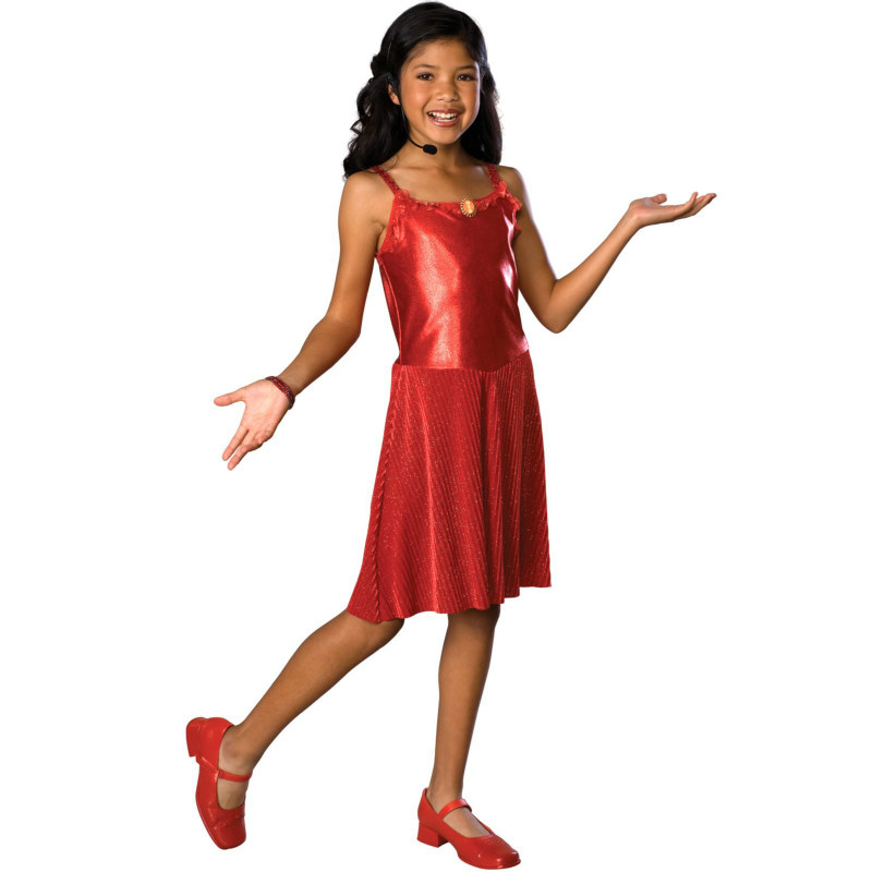 High School Musical Deluxe Gabriella Child Costume