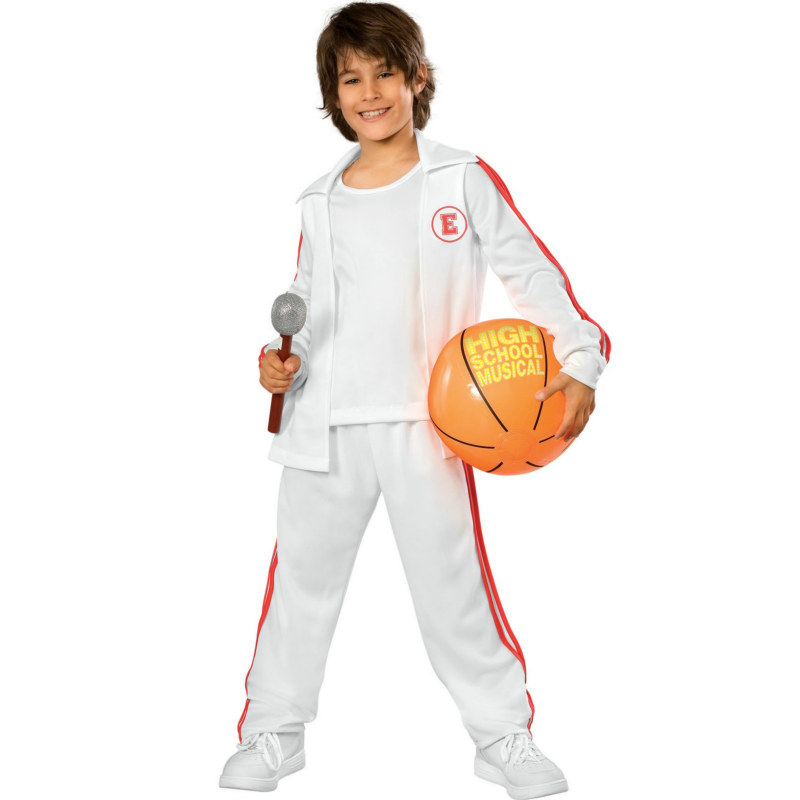 High School Musical Troy Warm-Up Jersey Set Child Costume