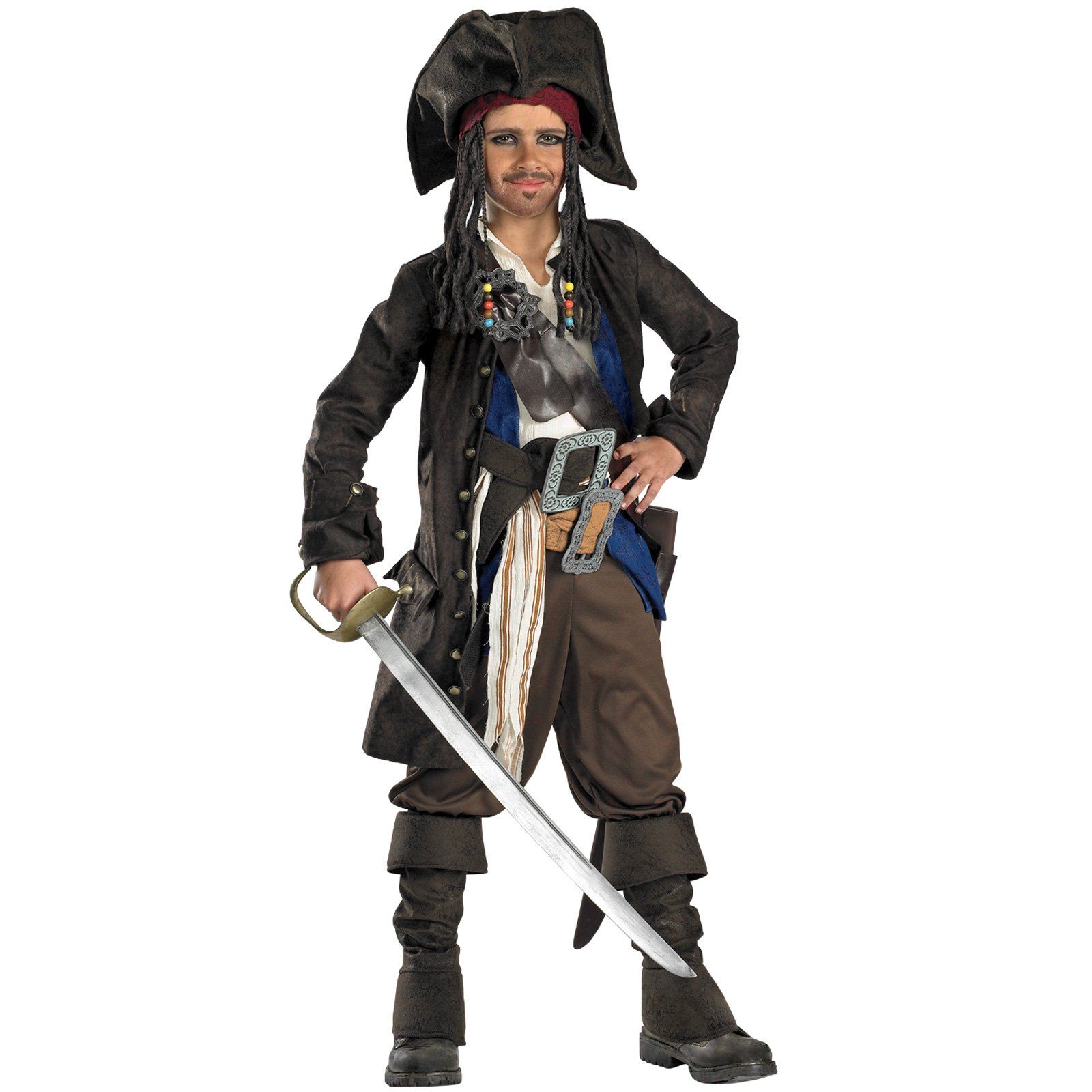 Pirates of the Caribbean - Captain Jack Sparrow Prestige Child C