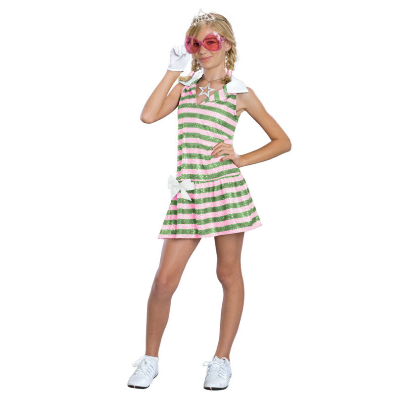 High School Musical 2 Sharpay Golf Child Costume