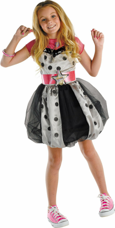 Hannah Montana (Pink with Polka Dots) Dress Child Costume