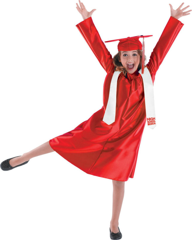 HSM 3 Cap and Gown Classic Child Costume