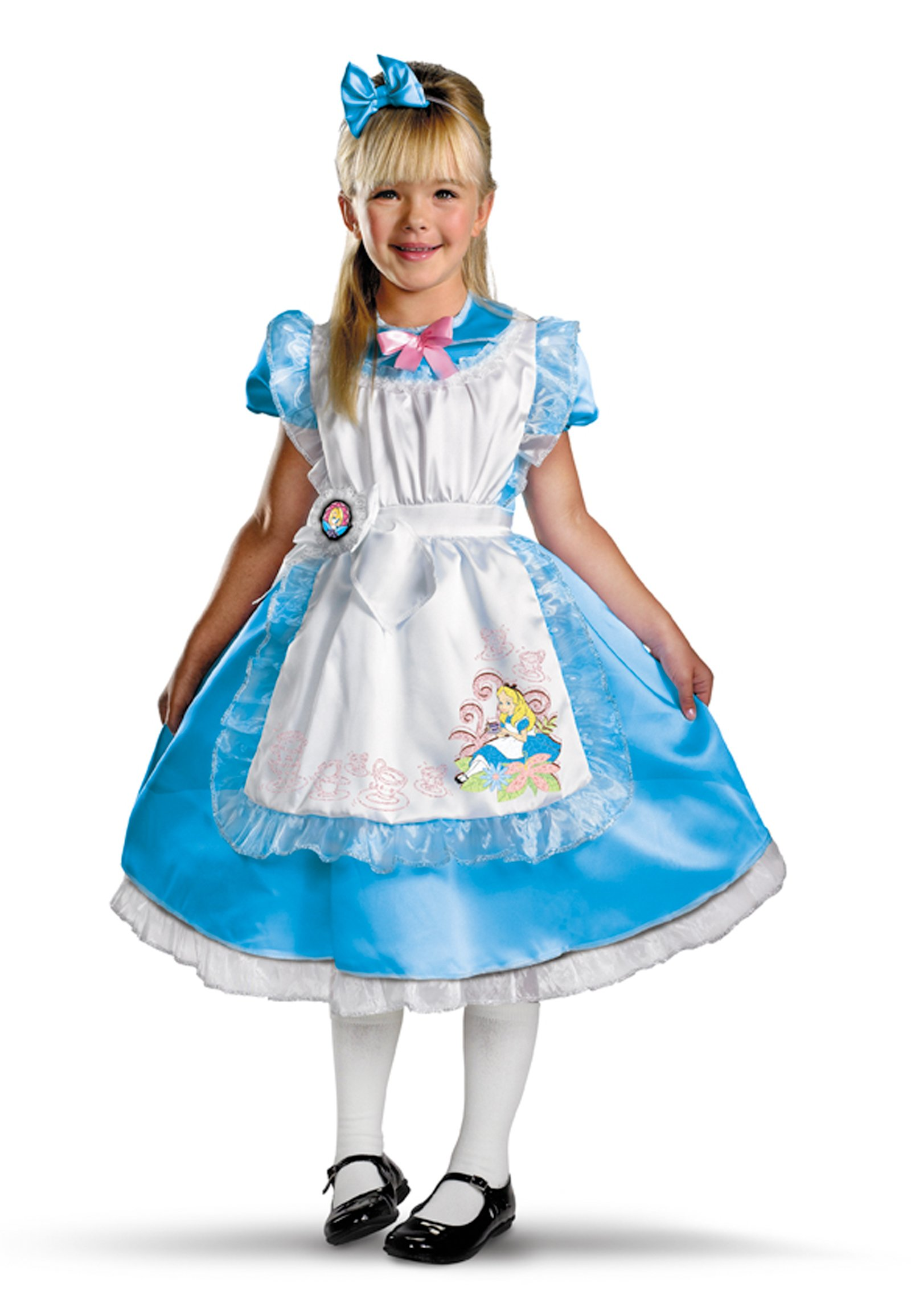 Disney's Alice in Wonderland - Alice Deluxe Child Costume