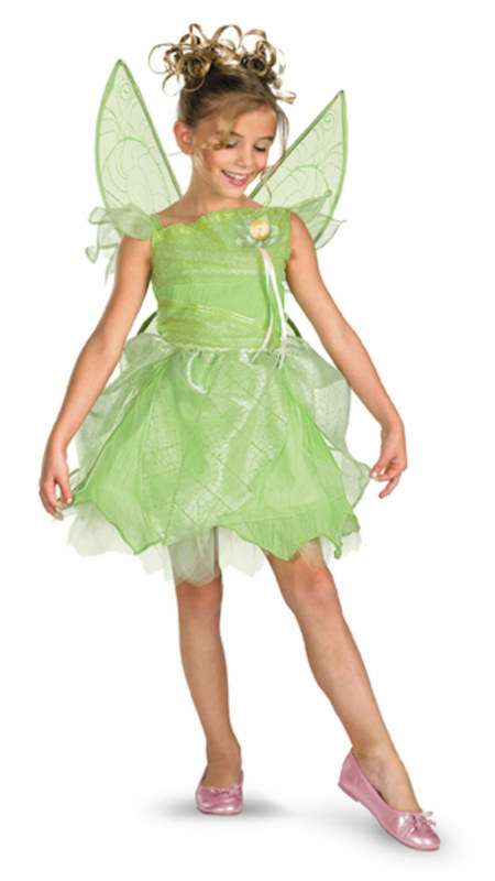 Tink and the Fairy Rescue - Tinkerbell Deluxe Child Costume