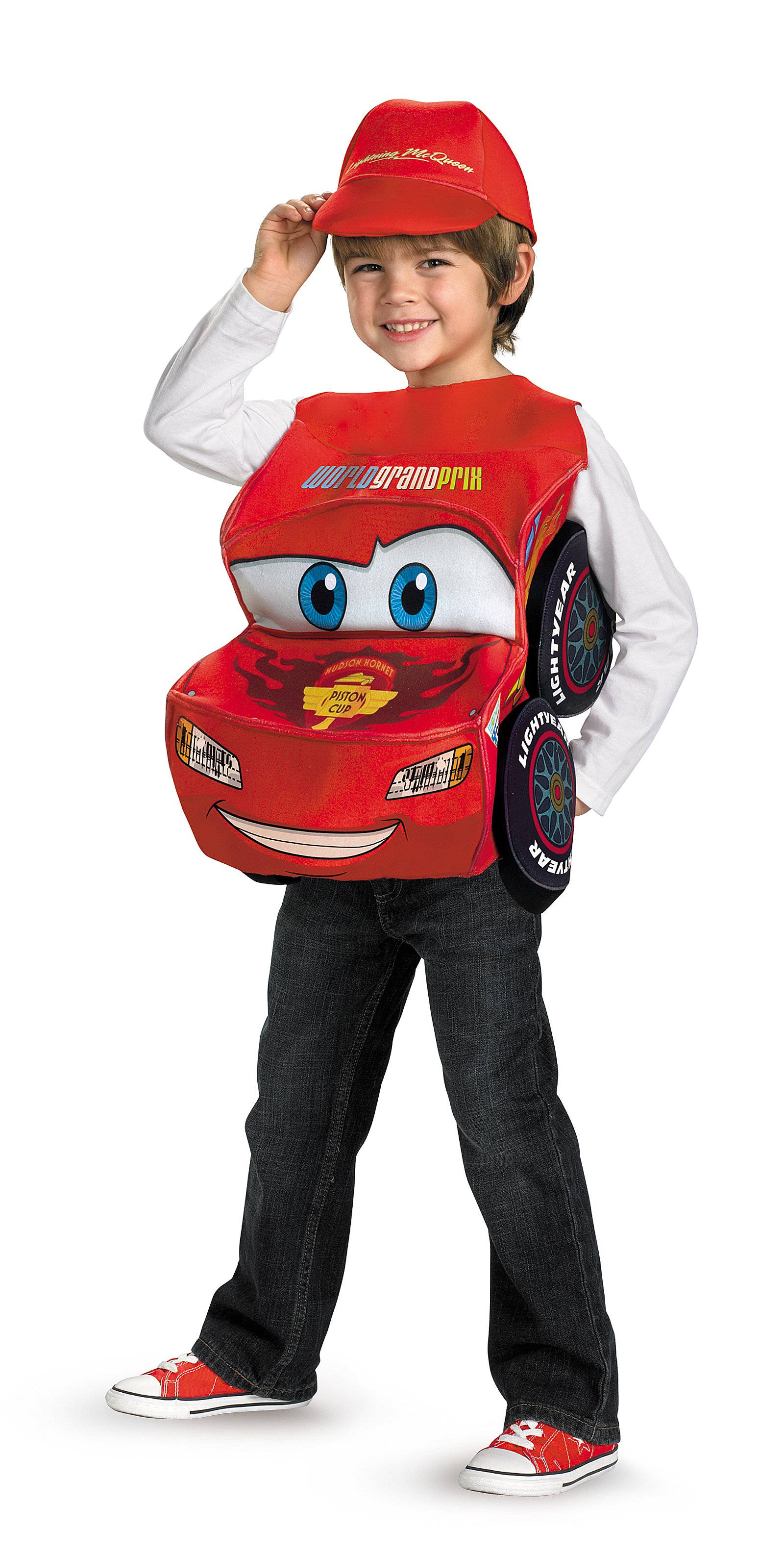 Cars 2 - Lightning McQueen Deluxe Child Costume