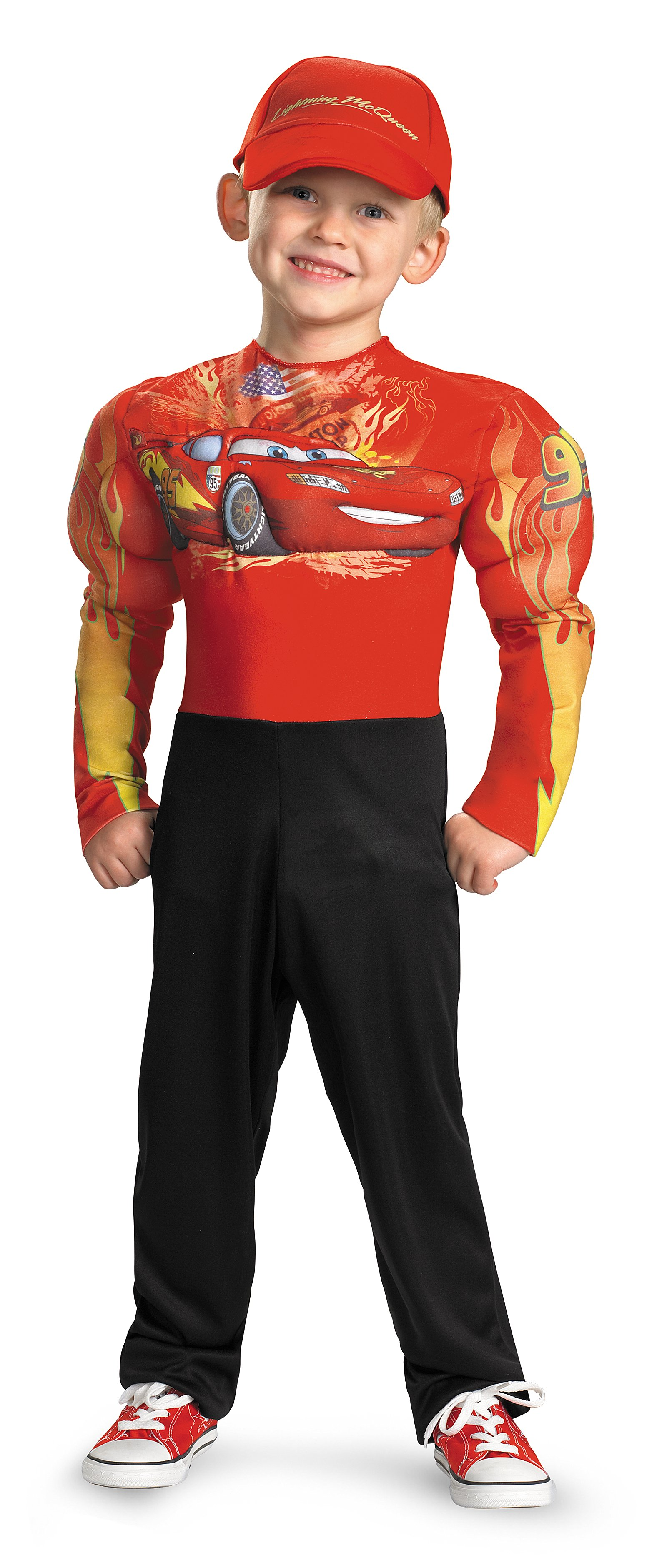 Cars 2 - Lightning McQueen Muscle Toddler / Child Costume