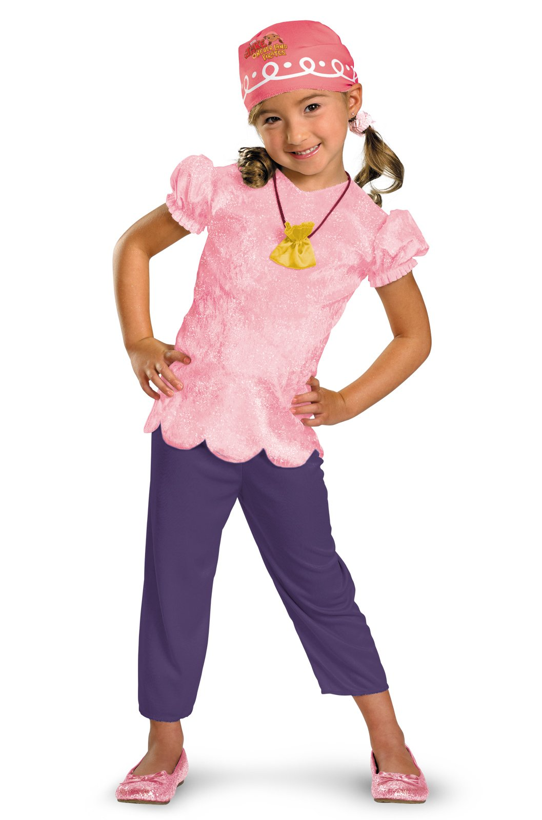 Disney Jake and the Never Land Pirates Izzy Classic Kids Costume