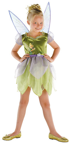 Child Tinkerbell Movie Costume