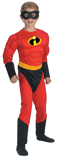 Kids Incredibles Dash / Mr. Incredible Costume
