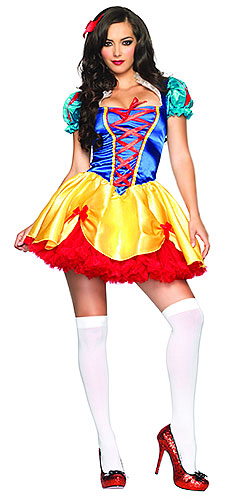 Sexy Fairytale Snow White Costume - Click Image to Close