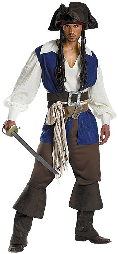 Jack Sparrow Plus Size Costume