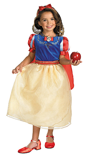 Kids Deluxe Snow White Costume