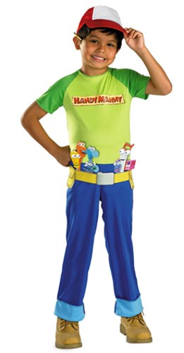 Toddler Handy Manny Costume