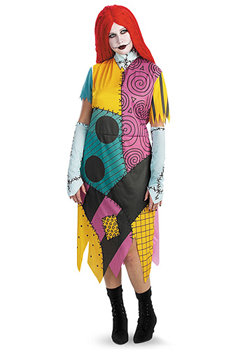 Plus Size Sally Costume