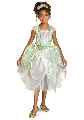 Child Shimmer Tiana Costume