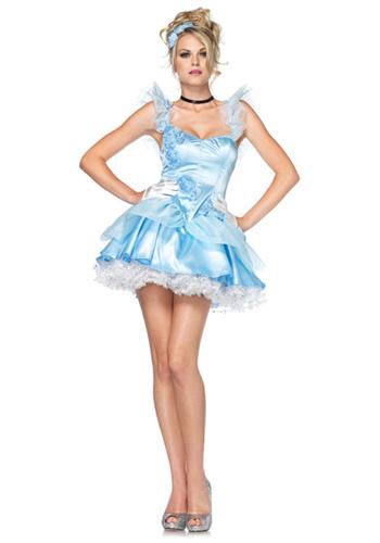 Sexy Blue Princess Costume