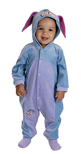 Toddler Eeyore Costume
