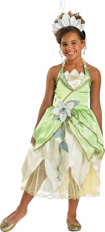 The Princess and the Frog Tiana Deluxe Toddler/Child Costume