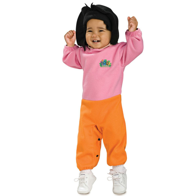 Dora The Explorer Dora EZ-On Romper Infant Costume