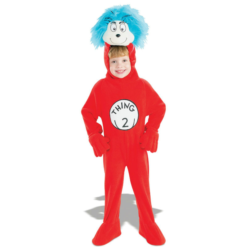 The Cat In The Hat Dr. Seuss Thing 2 Child Costume