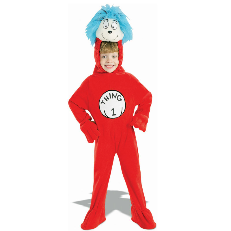 The Cat In The Hat Dr. Seuss Thing 1 Child Costume