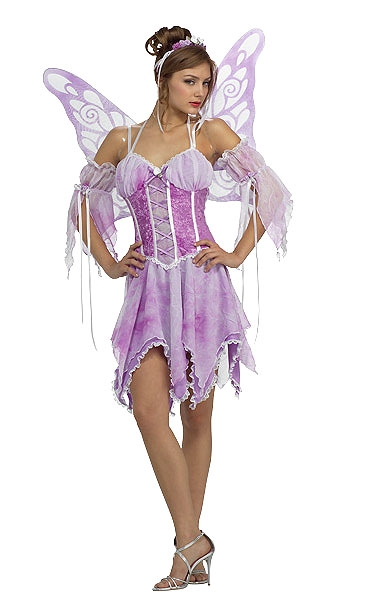 Purple Fairy Sexy Adult Costume