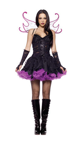 Wicked Dark Fairy Adult Costume
