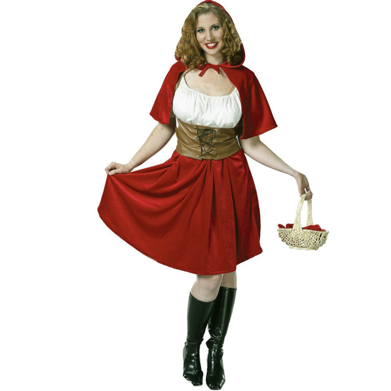 Red Riding Hood Plus Adult Costume