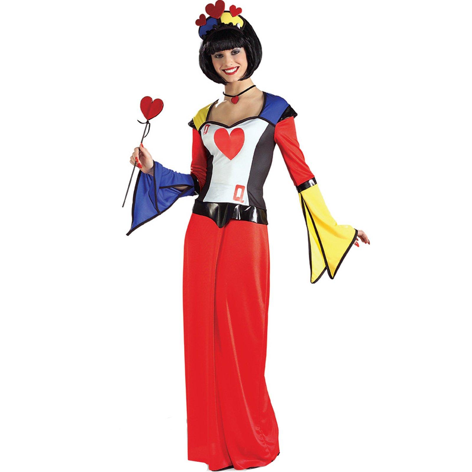 21046 Queen of Hearts Dress Adult Costume