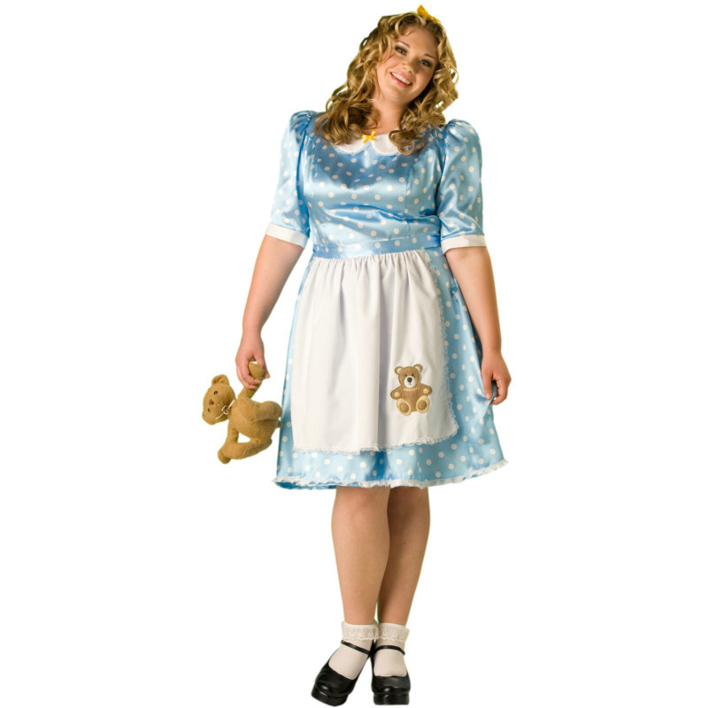 Goldilocks Plus Adult - Fairytale Classics Costume