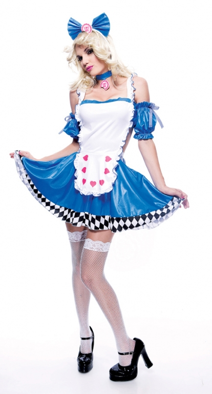 Wicked Wonderland Alice Economy Adult Costume