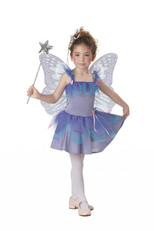 Violet Fairy Toddler Costume
