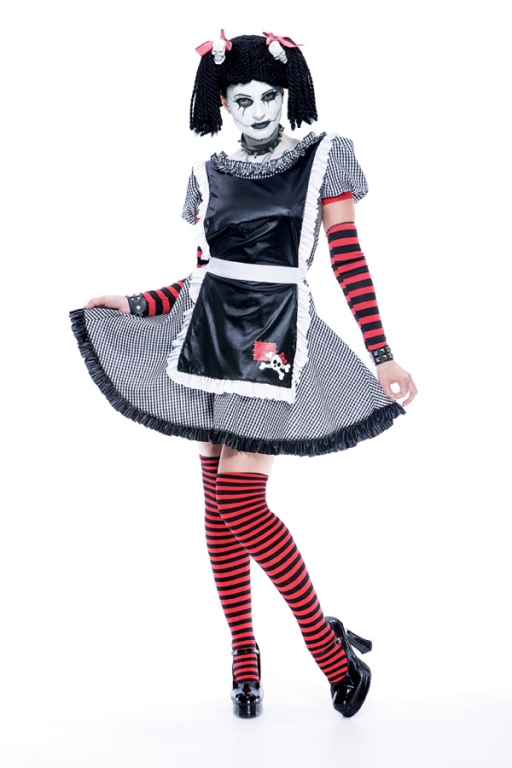 Gothic Rag Doll Adult Costume