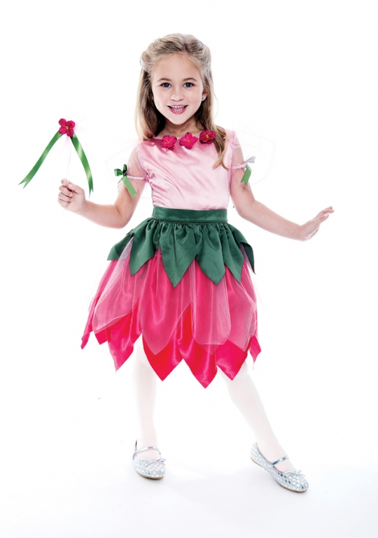 Pretty Petal Fairy Child Costume 7-8