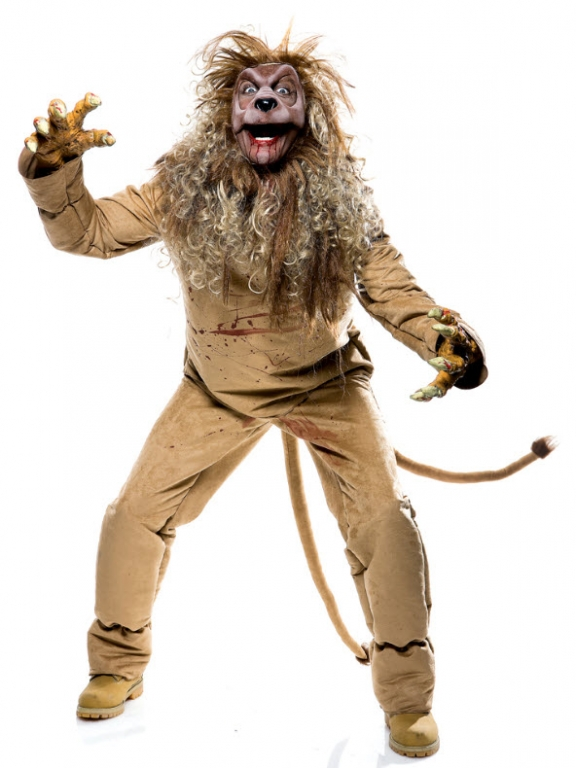 The Wicked Of Oz Lion Costume