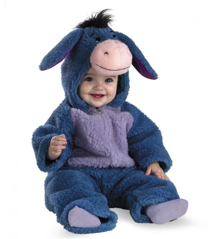 Eeyore Deluxe Plush Infant Costume