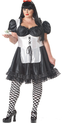 Malice In Wonderland Plus Size Adult Costume
