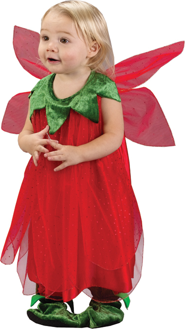 Red Strawberry Fairy Infant Costume