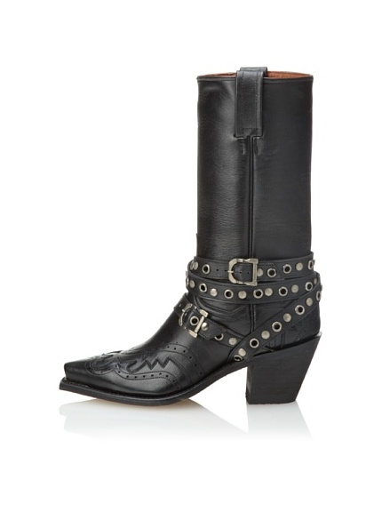 Code West Women's Moto Boot (Black)