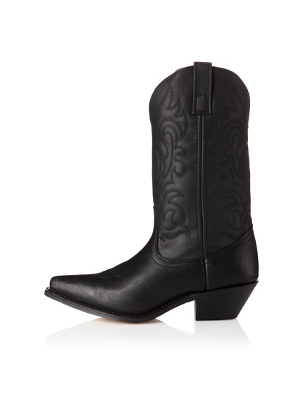 Laredo Women's Prairie Boot (Black Oily)