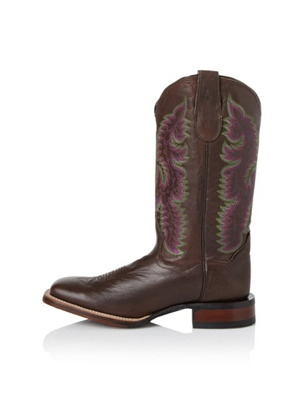 Dan Post Women's Square Toe Boot (Chocolate)