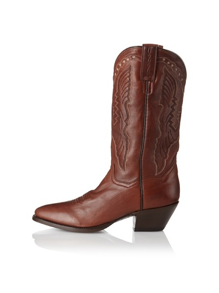 "Dan Post Women's 12"" Saddle Boot (Rust)"