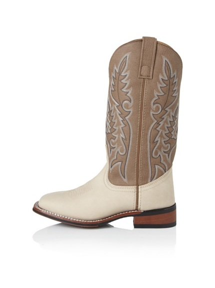 Laredo Women's Roper Two-Tone Boot (Brown)