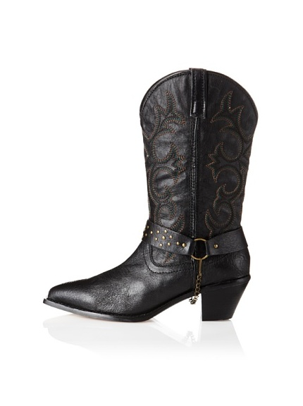 Dingo Women's Loretta Western Shoe (Black)