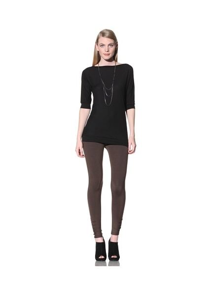 David Lerner Women's Bottom Band Top (Black/black)