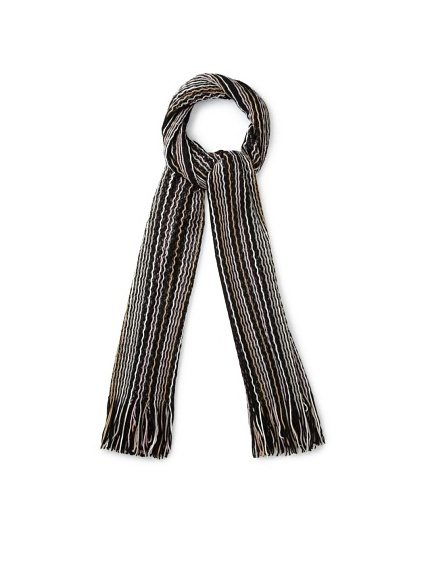 Missoni Women's Scarf, Black Multi
