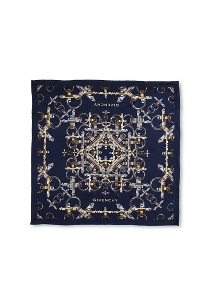 Givenchy Women's Obsedia Scarf, Navy