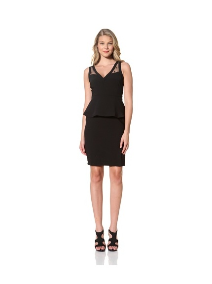 Eva Franco Women's Sheba V-Neck Dress with Peplum (Florence)